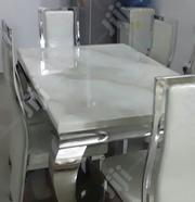 Marble Dining Table by Six | Furniture for sale in Lagos State, Ajah