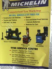Michelin Tyre Service Centre For Computer Wheel Balancing And Alignmen | Vehicle Parts & Accessories for sale in Lagos State, Lekki Phase 2