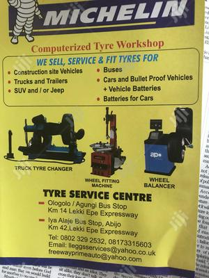 Michelin Tyre Service Centre For Computer Wheel Balancing And Alignmen
