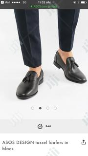 ASOS DESIGN Tassel Loafers in Black | Shoes for sale in Lagos State, Victoria Island