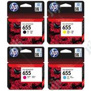 HP 655 Ink Cartridges | Accessories & Supplies for Electronics for sale in Abuja (FCT) State, Wuse 2