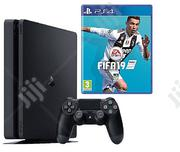 Sony Ps4 500gb Fifa 19 Bundle Jet Black | Video Game Consoles for sale in Lagos State, Ikeja