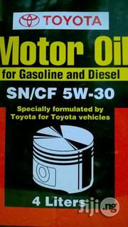 Toyota 5W30 Genuine Motor Oil | Vehicle Parts & Accessories for sale in Rivers State, Port-Harcourt