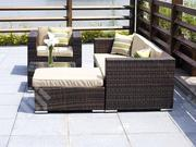 Garden Rattan Furniture Set W/ Weather Resistant Cushions | Furniture for sale in Ebonyi State, Afikpo North