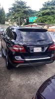 Mercedes-Benz M Class 2015 Black   Cars for sale in Surulere, Lagos State, Nigeria