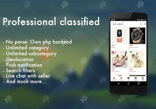 I Will Build A Professional Classified And Ecommerce Android App