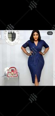Ladies Formal Mini Dress in Blue | Clothing for sale in Lagos State, Lagos Island