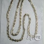 Solid ITALY 750 Pure 18krt White Gold Flat Twist Design | Jewelry for sale in Lagos State