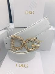 Dolce & Gabbana Leather Belt Original 0044 | Clothing Accessories for sale in Lagos State, Surulere