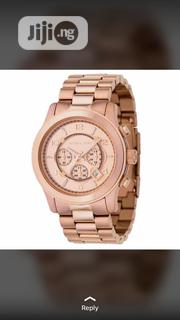 Michael Kors Gold Wrist Watch | Watches for sale in Lagos State, Lagos Island