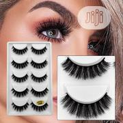 5 Pairs Natural 3D Mink Eyelashes G800 and G806 | Makeup for sale in Oyo State, Ibadan