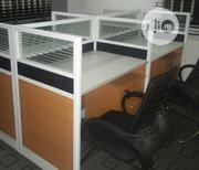 This Is High Quality Brand New Workstation Table Four Seaters | Furniture for sale in Lagos State, Ajah