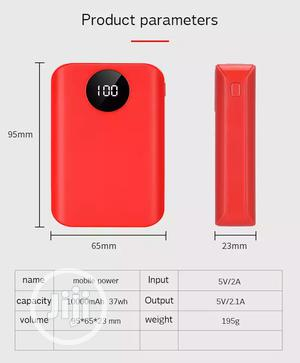 Generic 5V 2A 10000 Mah Power Bank for iPhone,Android and Tablets