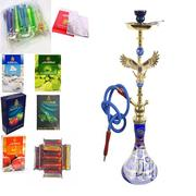 Eagle Single Hose Design Shisha Hookah Pot With Flavor | Tabacco Accessories for sale in Rivers State, Port-Harcourt