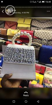 Lovely Stone Leather Bag | Bags for sale in Lagos State, Gbagada