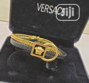Designer Leather Versace Bracelet | Jewelry for sale in Lagos State, Lagos Island