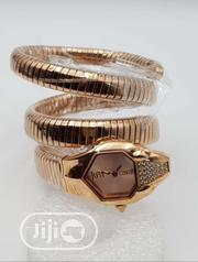 Original Just Cavalli Gold Plated Bangle Wristwatch | Jewelry for sale in Lagos State, Lagos Island