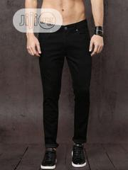 Mens Fashion Skinny Jeans Black | Clothing for sale in Lagos State, Ikeja