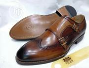 Anex Brown Shoe | Wedding Wear for sale in Lagos State