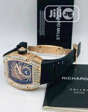 Original Richard Mille Men's Quality Leather Wristwatch   Watches for sale in Lagos State, Lagos Island