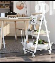 """IKEA RISATORP Utility Cart, White, 22 1/2x15 3/8x33 7/8 """" 