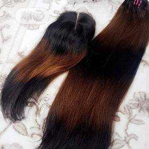 Double Drawn Ombre Cute Human Hair