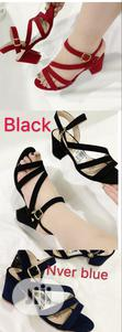 Block Heel Sanders for Ladies/Women Available in Different Sizes | Shoes for sale in Magodo, Lagos State, Nigeria