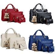Ladies 4 in One Set Bag- Red | Bags for sale in Rivers State, Port-Harcourt