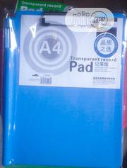 Office Plastic Clipboard Stationery With Pen Holder For Corporate Gift | Stationery for sale in Lagos State, Ikeja