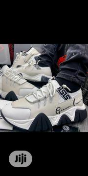 Gianni Versace Squalo Hiker Ss_20 White Sneakers   Shoes for sale in Lagos State, Ajah