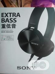 Sony Extra Bass Headset   Headphones for sale in Lagos State, Ikeja