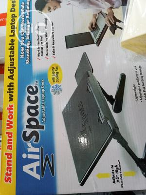 Air Space Adjustable Laptop Desk Stand