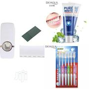 Toothpaste Dispenser+ Toothbrush Set + Whitening Toothpaste Combo | Home Accessories for sale in Lagos State, Surulere