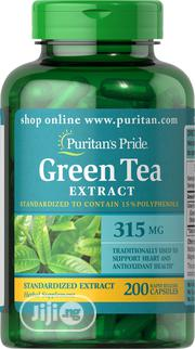 Puritans Pride Green Tea Extract 315 Mg - Improves Weight Loss. | Vitamins & Supplements for sale in Lagos State, Ipaja