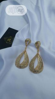 Water Drop Cubic Zircon Earring Owanbe Style   Jewelry for sale in Lagos State, Ajah