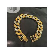 Fashion Cuban Link Stoned Hand Chain | Jewelry for sale in Lagos State, Surulere