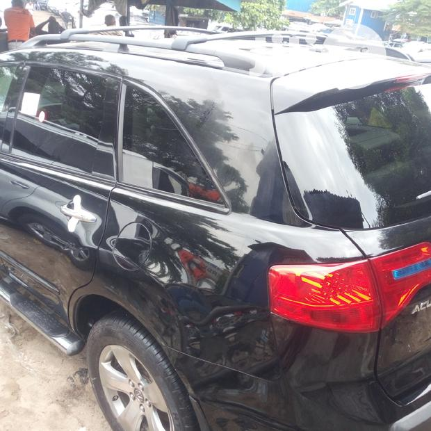 Acura MDX 2007 Black In Apapa