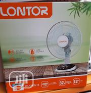 """12"""" Lontor Rechargeable Table Fan 