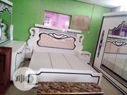 High Quality And Durable Royal Bed With Wardrobe And Dresser | Furniture for sale in Lagos State