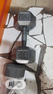 20kg Iron(Mental) Dumbbell | Sports Equipment for sale in Lagos State, Surulere