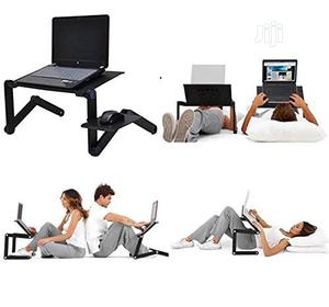 T8multi Functional Adjustable Laptop Table With Mouse Pad&Cooler Fan