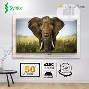 """Syinix 50"""" Inch Android 4k UHD Smart LED TV- T730U Series   TV & DVD Equipment for sale in Lagos State, Ojo"""
