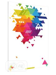Geometric Background Art Poster | Arts & Crafts for sale in Lagos State, Lekki Phase 1