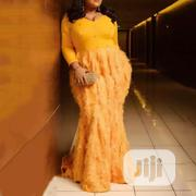 Women's Plus Size Feathers Party Dinner Dress | Clothing for sale in Lagos State