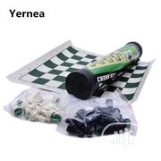 Tournament Chess Set With Cylinder Carrier Box | Books & Games for sale in Lagos State, Yaba