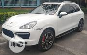 Porsche Cayenne 2012 Turbo White | Cars for sale in Lagos State, Ojota