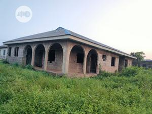 4 Bedroom Bungalow With 3 Toilets. On a 70x120m Land