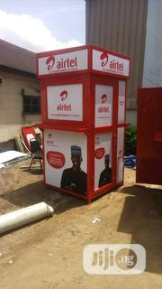 Kiosk Construction And Design Signage   Manufacturing Services for sale in Lagos State, Mushin