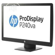 HP Prodisplay P240va 23.8′′ Monitor (N3h14at) Hdmi, Dp, VGA | Computer Monitors for sale in Lagos State, Ikeja