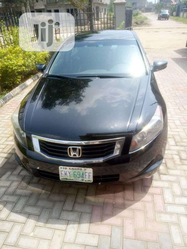 Archive: Honda Accord 2008 Black